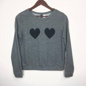 Heart Crewneck Sweatshirt
